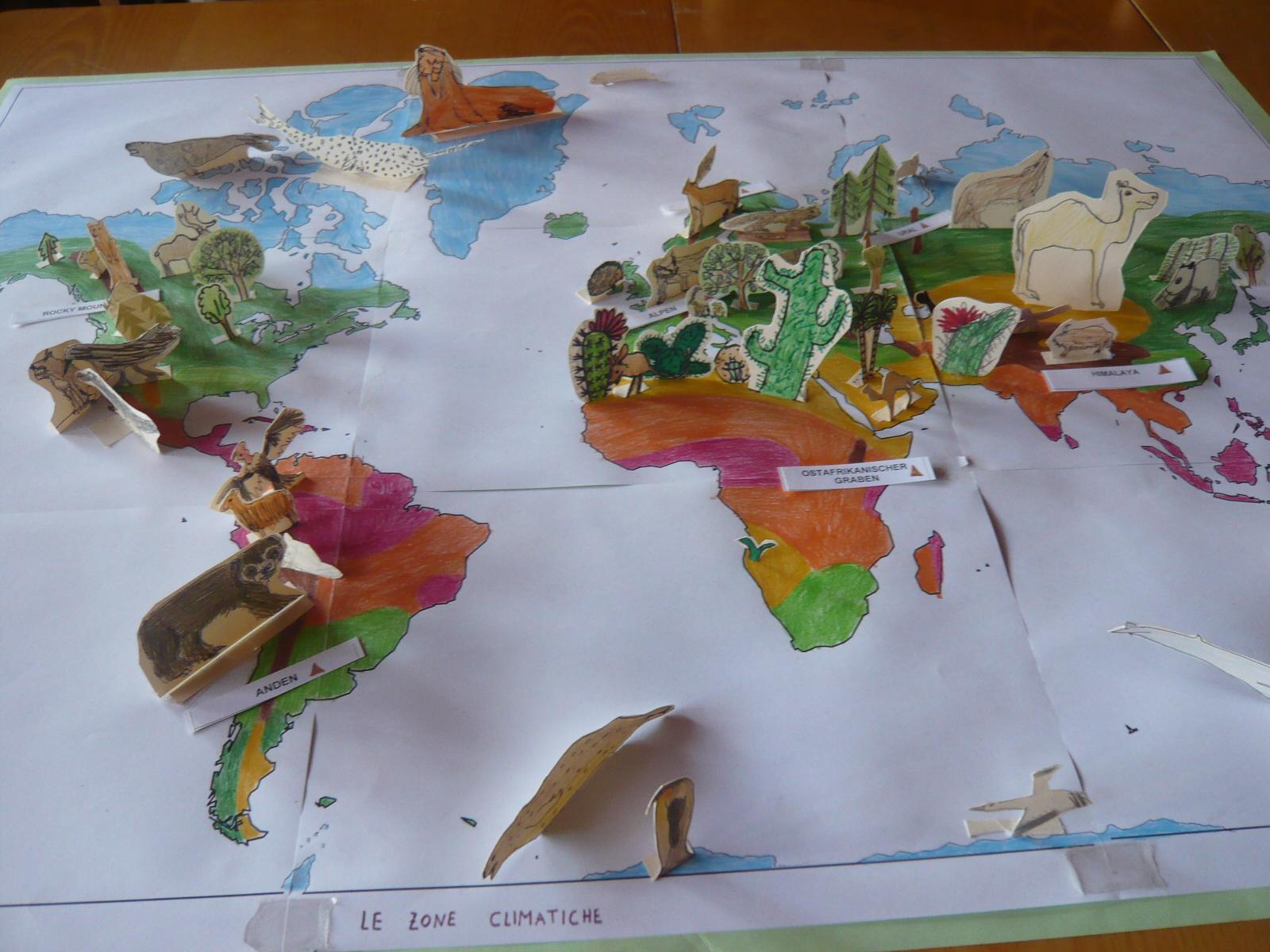Juli 2011 buntblume seite 3 - Weltkarte basteln ...